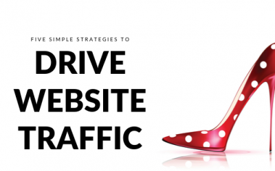 Five simple strategies to drive website traffic