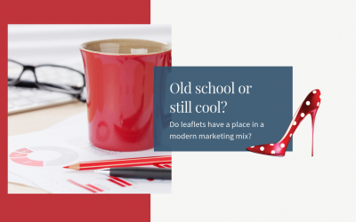 'Old skool' leaflets are still cool in small business marketing