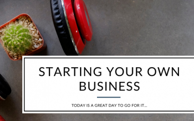 Today's a great day to start your own business